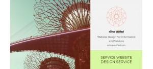 Service Website Design Creation